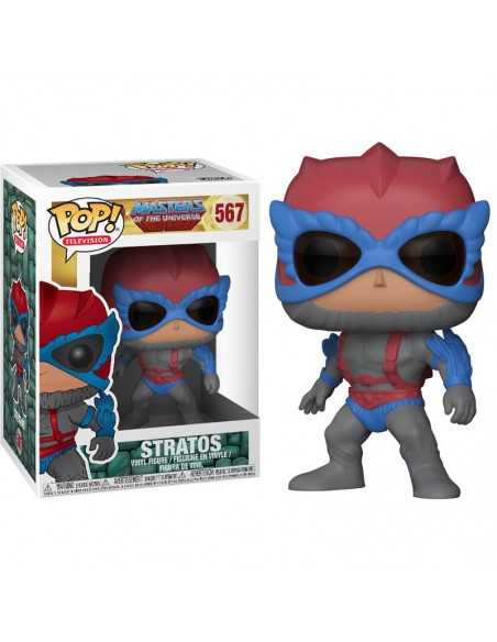 Figura POP Masters of the Universe Stratos - Imagen 1