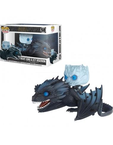 Figura POP Game of Thrones Night King on Dragon 15cm - Imagen 2