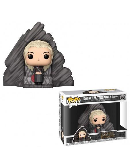 Figura POP Game of Thrones Daenerys on Dragonstone Throne - Imagen 2