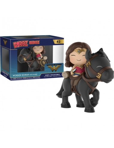 Figura Dorbz Ridez DC Wonder Woman on horse - Imagen 2