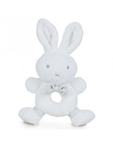 Sonajero peluche Little Bunny Baby soft - Imagen 1