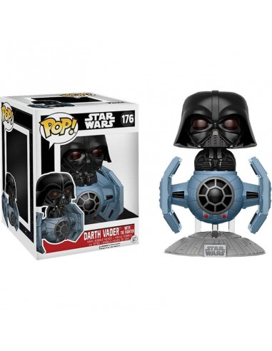 Figura POP Star Wars Darth Vader Tie Fighter 15cm Exclusive - Imagen 2