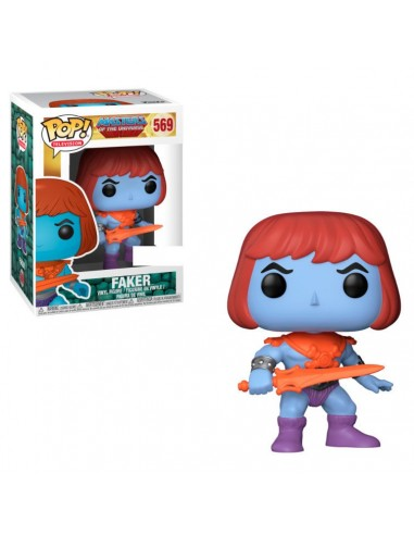 Figura POP Master Of The Universe Faker Exclusive - Imagen 2