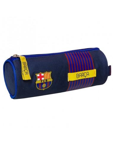 Estuche Portatodo Redondo oficial del F.C. Barcelona