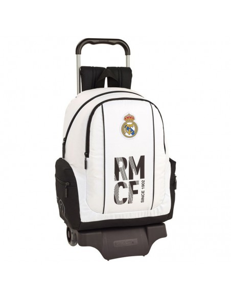 Mochila con carro oficial del Real Madrid 43 cm.