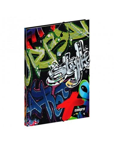 Carpeta A4 Campro Freestyle gomas - Imagen 1