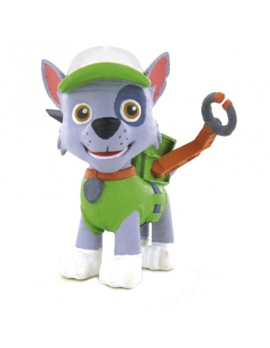 Figura Rocky Patrulla Canina Paw Patrol 5cm - Imagen 1