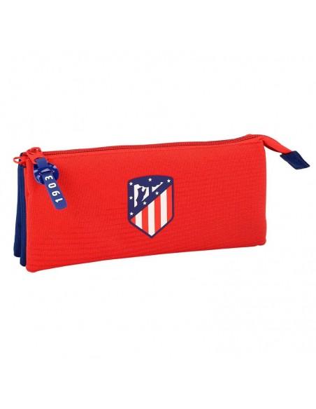 Estuche Portatodo Atletico Madrid triple oficial