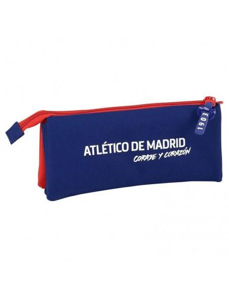 Estuche Portatodo Atletico Madrid triple oficial 3
