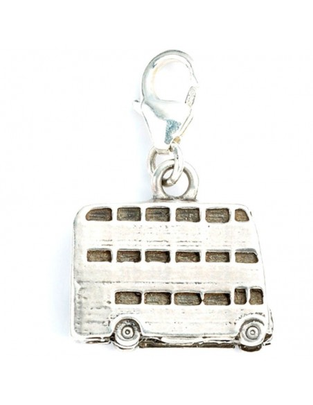 Colgante charm Knight Bus Harry Potter plata - Imagen 2