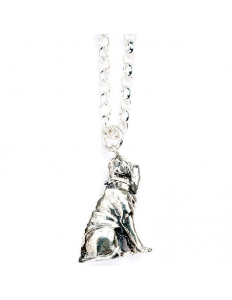 Colgante Fang the Dog Harry Potter plata - Imagen 3