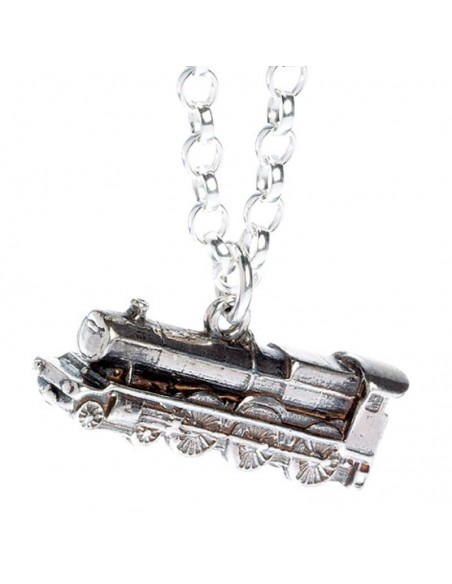 Colgante Hogwarts Express Train Harry Potter plata - Imagen 4