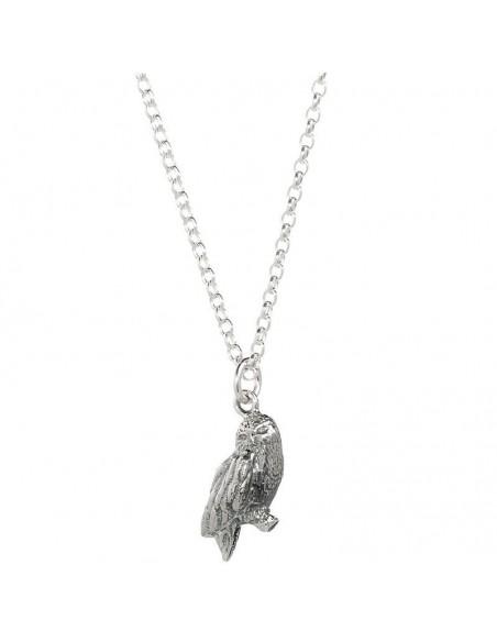 Colgante Hedwig Owl Harry Potter plata - Imagen 1