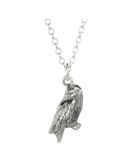 Colgante Hedwig Owl Harry Potter plata - Imagen 3