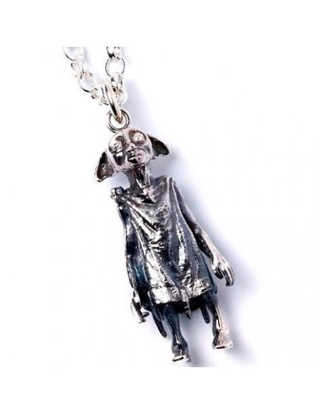 Colgante Dobby Harry Potter plata - Imagen 5