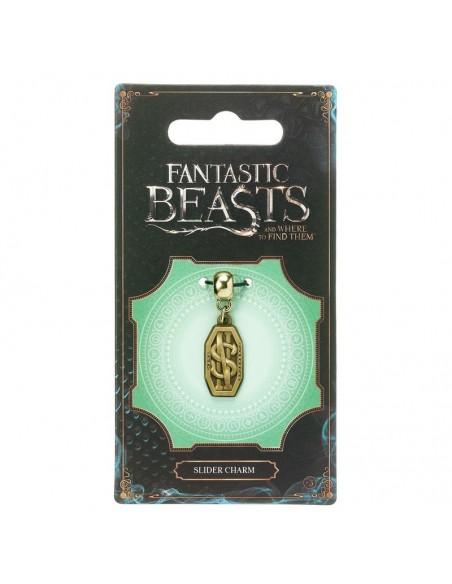 Colgante charm Newt Scamander Logo Animales Fantasticos - Imagen 2