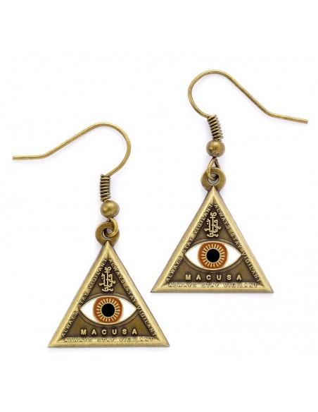 Pendientes Triangle Eye Animales Fantasticos - Imagen 1