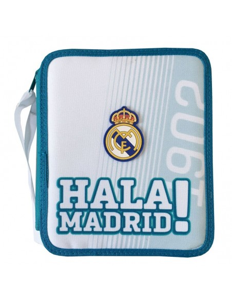 Estuche Plumier doble completo del Real Madrid