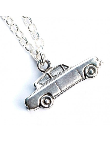 Colgante Mr Weasleys Flying Car Harry Potter plata - Imagen 2