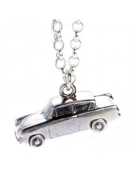 Colgante Mr Weasleys Flying Car Harry Potter plata - Imagen 4