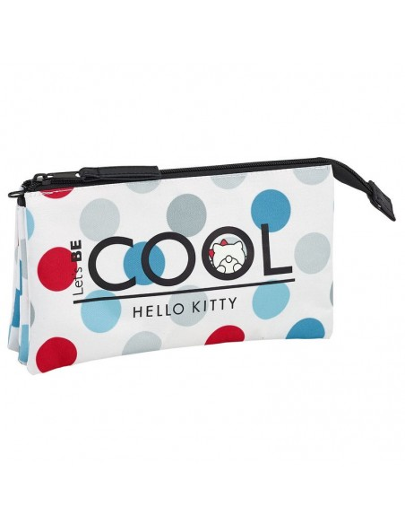 Portatodo Hello Kitty Cool triple - Imagen 1