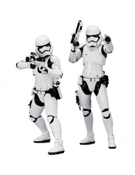 Set figuras Stormtrooper First Order Star Wars ARTFX+ - Imagen 1