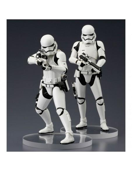 Set figuras Stormtrooper First Order Star Wars ARTFX+ - Imagen 2