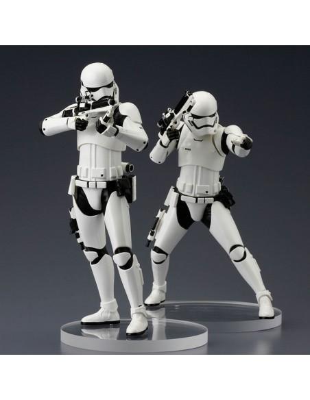 Set figuras Stormtrooper First Order Star Wars ARTFX+ - Imagen 4