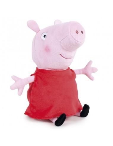 Peluche 40 cm. Rojo de Peppa Pig