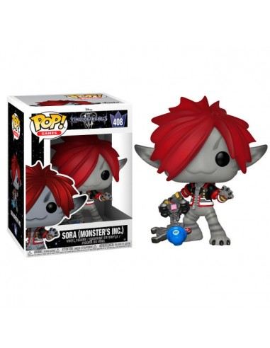 Figura POP Disney Kingdom Hearts 3 Sora Monsters Inc. - Imagen 1