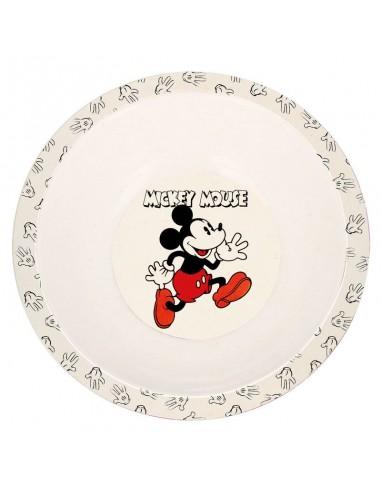 Plato Bamboo de Mickey Mouse Disney