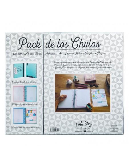 Set regalo Cuaderno A4 + tarjeta + llavero Sueños - Imagen 2