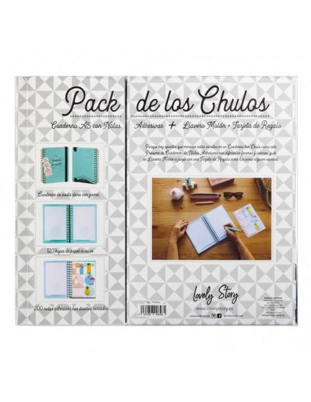 Set regalo Cuaderno A5 + tarjeta + llavero Realistas - Imagen 2