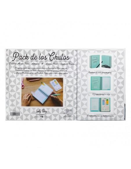 Set regalo Cuaderno A6 + tarjeta + llavero Cosas - Imagen 2