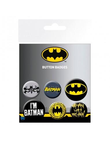 Set chapas Batman DC Comics - Imagen 1
