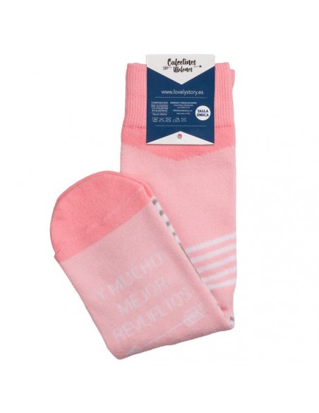 Calcetines Siempre Juntos rosa - Imagen 2