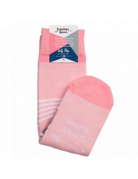 Calcetines Siempre Juntos rosa - Imagen 3