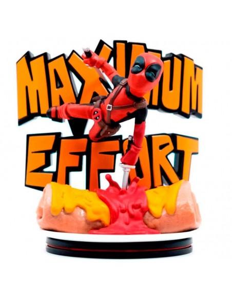 Figura diorama Maximo Esfuerzo Deadpool Marvel 14cm - Imagen 1