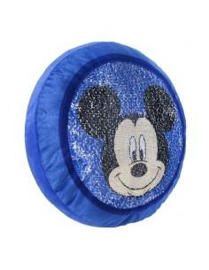 Cojin de Mickey Mouse premium con lentejuelas