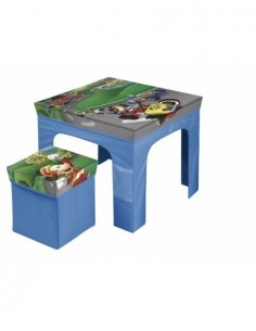 Set mesa y taburete plegable de Mickey Mouse