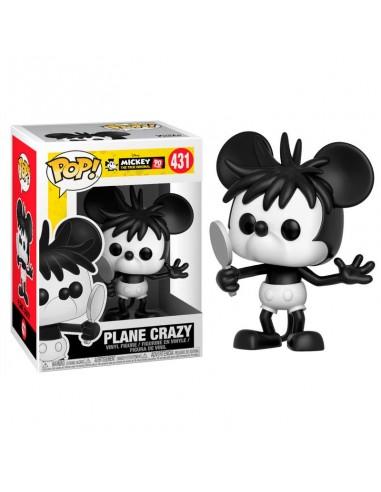 Figura Funko POP Disney Mickey's 90th Plane Crazy