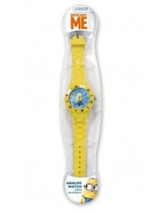 Reloj analógico de Los Minions