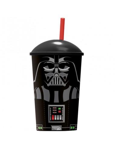 Vaso Star Wars Darth Vader pajita - Imagen 1