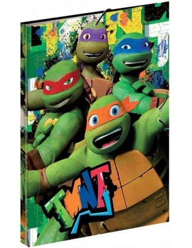 Carpeta gomas de Tortugas Ninja