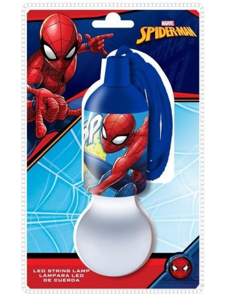 Spiderman Marvel Lámpara led con cuerda