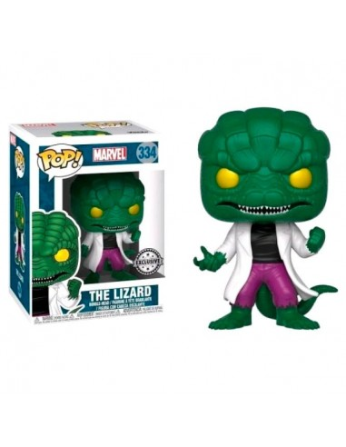 Figura POP Marvel The Lidard Exclusive - Imagen 1