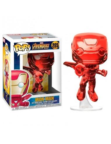 Figura POP Marvel Avengers Infinity War Iron Man Red Exclusive - Imagen 1