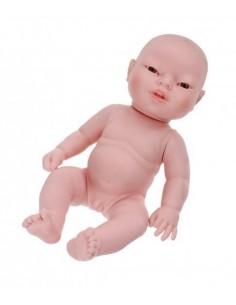Muñecas Berjuan Newborn Bebe Asiatico Sin Ropa