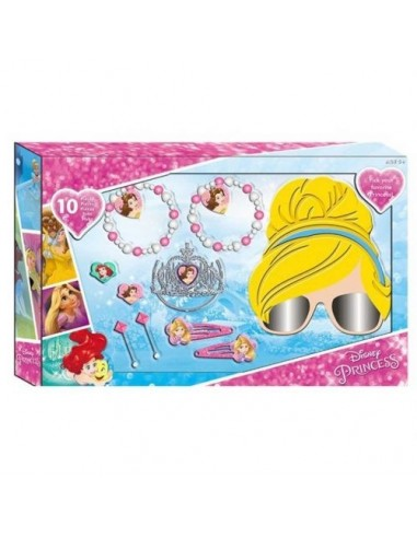 Set gafas 3d y accesorios de Princesas Disney