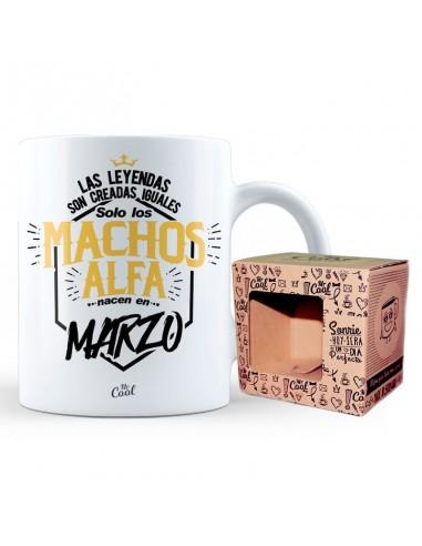Taza Machos Alfa Marzo - Imagen 1
